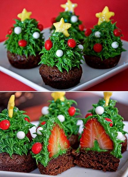 cupcake-morango-natal